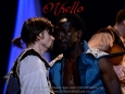 Julian playing Cassio in the UK & Irish tour of Othello