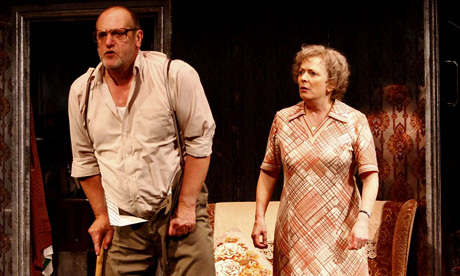 Class and condemnation ... David Troughton and Alison Steadman in Enjoy