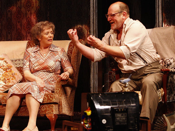 Alison Steadman & David Troughton in Enjoy
