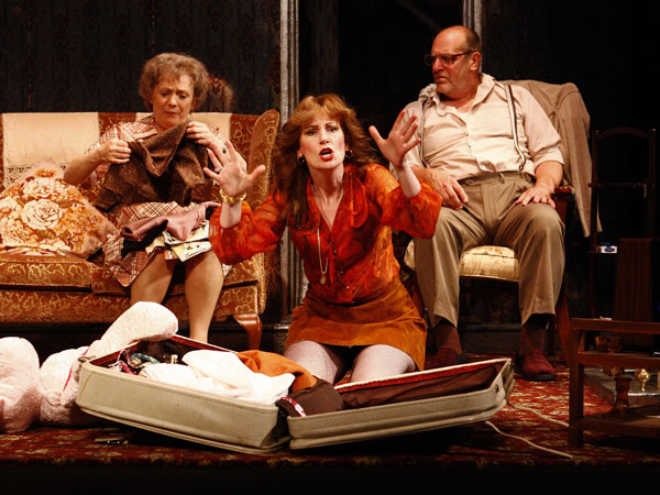 Alison Steadman, Josie Walker & David Troughton in Enjoy