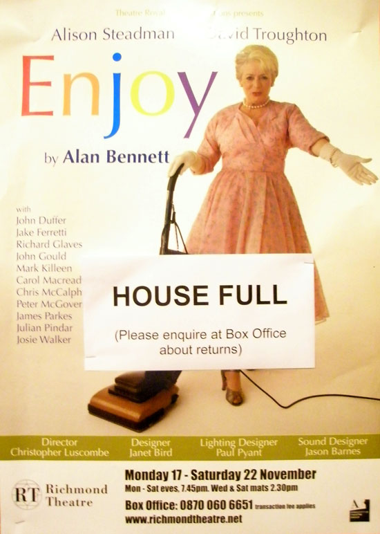 Alan Bennett Enjoy Full House