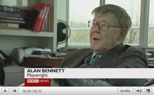 Alan Bennett BBC Interview