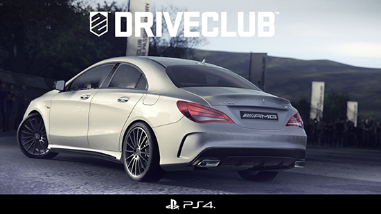 Playstation 4 Driveclub banner