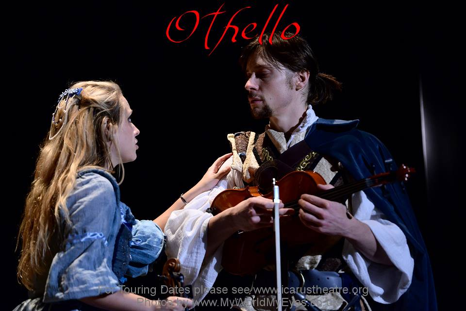 Julian in Icarus Theatre's Othello
