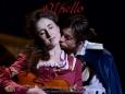 Julian playing Cassio in the UK & Irish tour of Othello